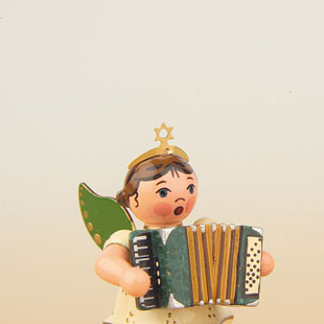 Engel mit Akkordeon 6,5 cm